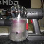 Чистка пылесоса Dyson DC62 в домашних условиях