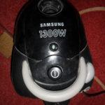 Замена кнопки включения на пылесосе Samsung vc-5853 своими руками