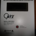Ремонт стабилизатора напряжения Onyx WDR-10.