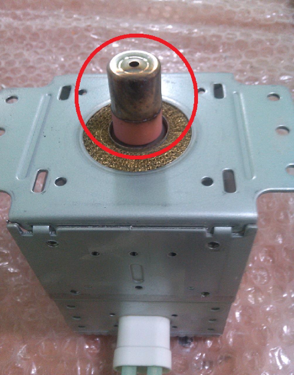 Ремонт колпачка магнетрона микроволновки своими руками 78