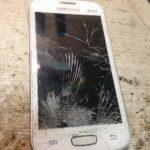 Смартфон s7262 samsung, замена тачскрина своими руками.