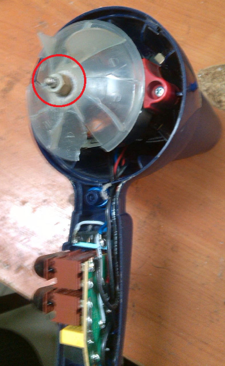 Починить фен своими руками