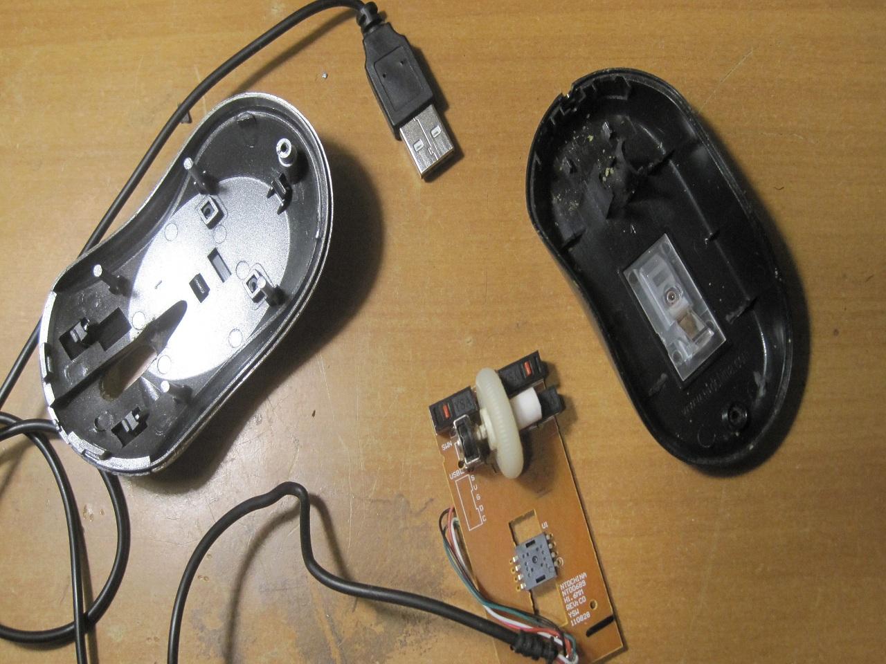Ремонт компьютерной мыши своими руками видео