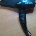 Ремонт бытового фена для волос dewal своими руками.