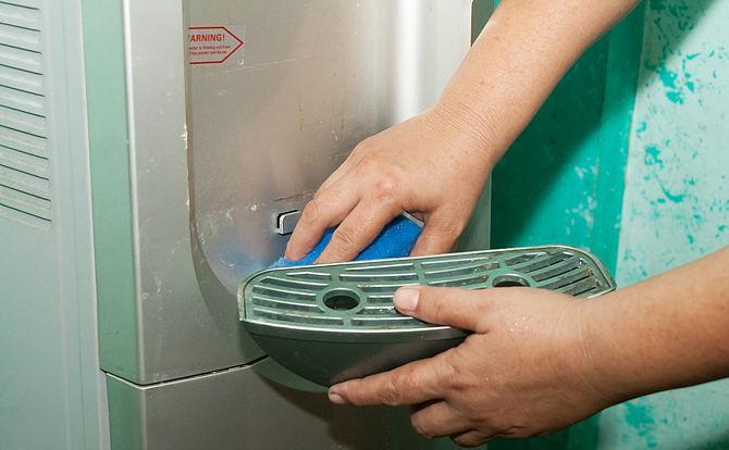 Дезинфекция кулера для воды 123