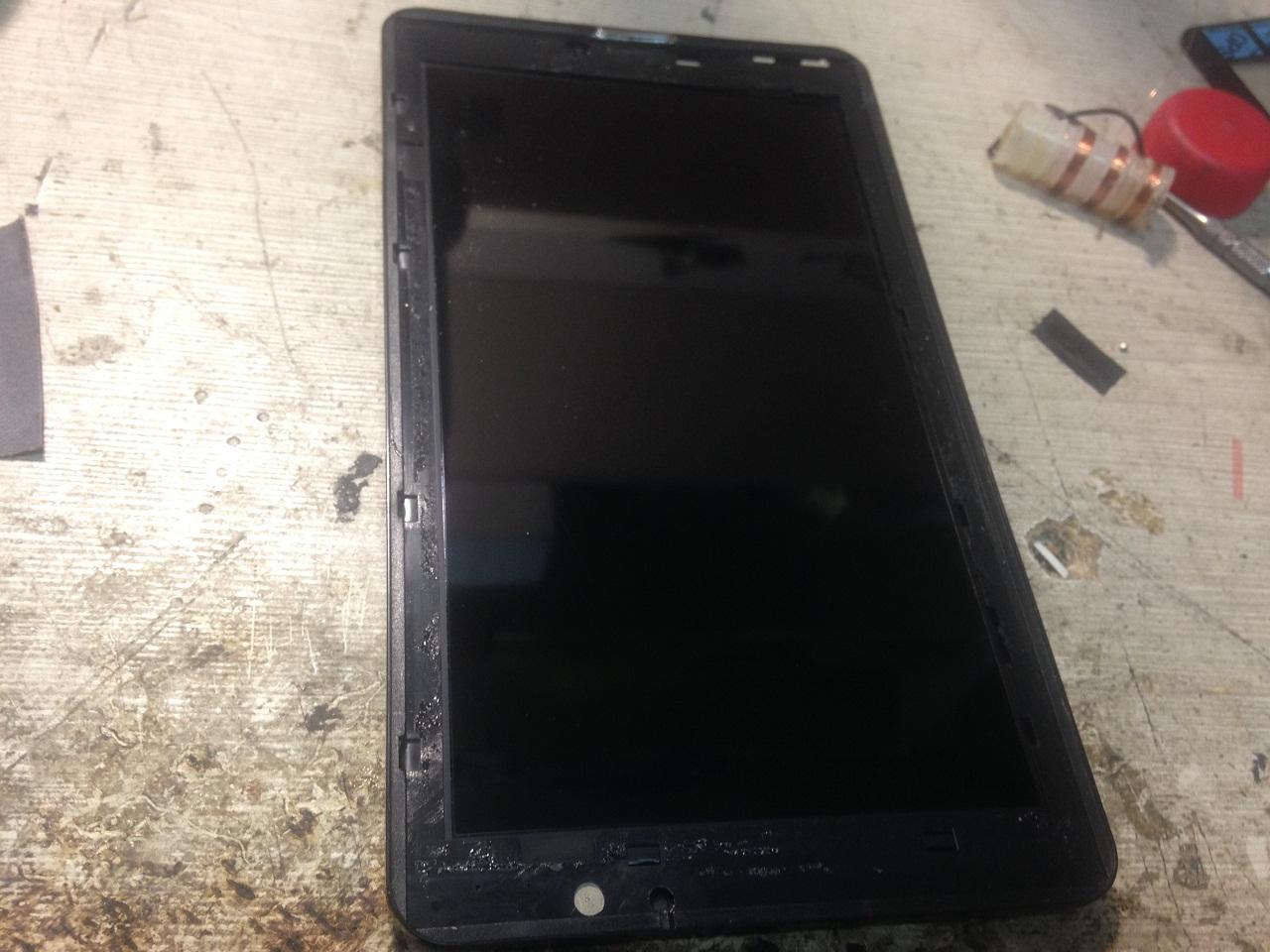 Что делать, если не работает сенсор на планшете - m 40