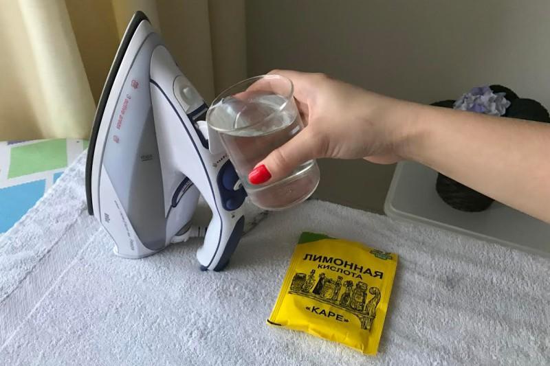 Как очистить утюг в домашних условиях от накипи
