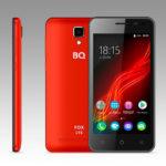 BQ выпустила новый яркий бюджетный смартфон BQ-5044 Fox LTE