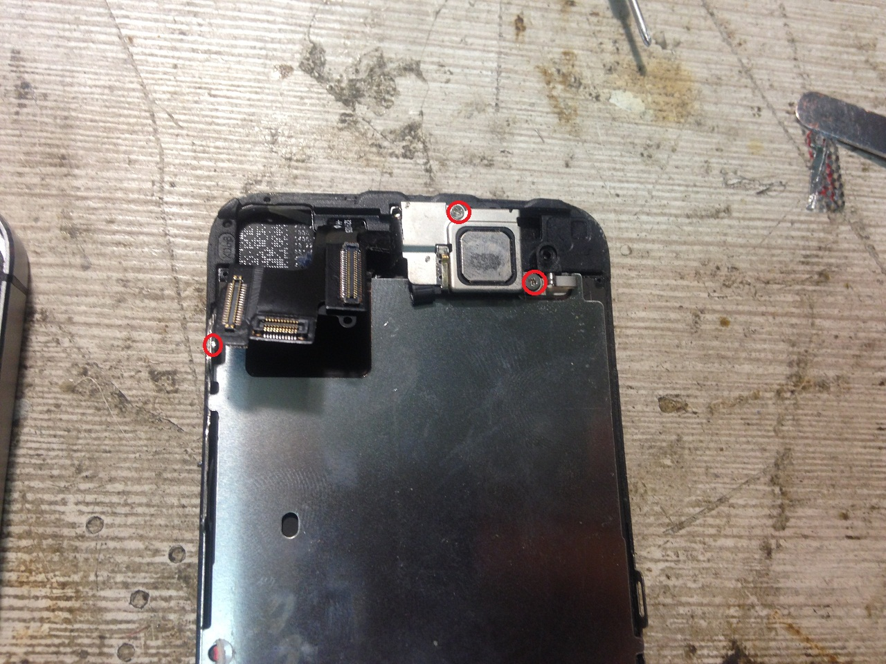 Замена дисплея iphone 5s своими руками фото 373