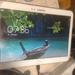 Замена экрана на планшете самсунг P5210 .