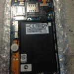 Ремонт кнопки включения смартфона lg e730.