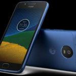 Новый Moto G5 в цвете Sapphire Blue