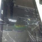 Треснуло стекло, не работает сенсор, планшет Acer A3 – ЗАМЕНИМ САМИ.