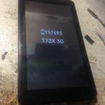 На планшете не работает сенсор, что делать, модель oysters t72x 3g.