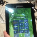 Не работает часть сенсора на планшете Samsung T111.