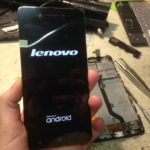 Замена модуля экрана на телефоне Lenovo A2020.